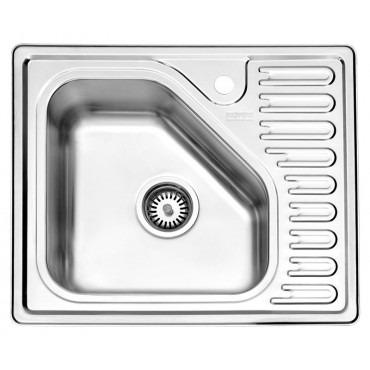 سینک ظرفشویی استیل البرز ۸۱۰/۵۲ توکار