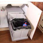 سطل زباله کابینتی درب باز شو