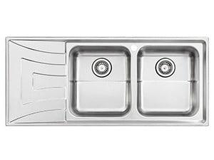 سینک ظرفشویی استیل البرز۷۳۶ توکار