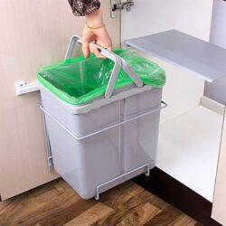 خرید سطل زباله توکار کابینت