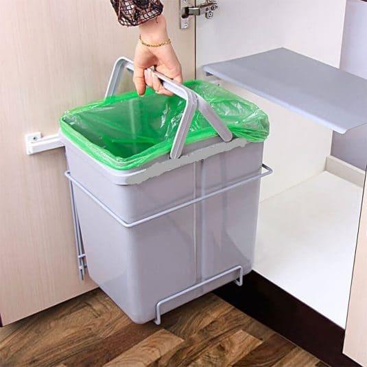 سطل زباله کابینت توکار۸۱۷