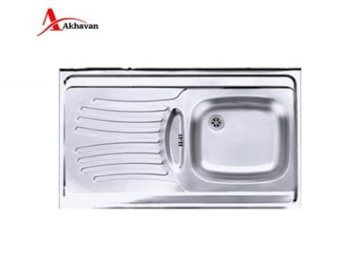 سینک ظرفشویی روکار اخوان مدل ۱۲۵