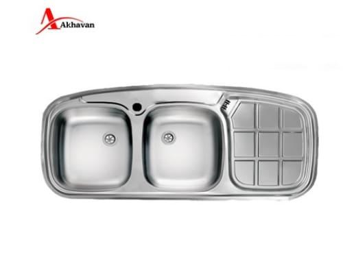 سینک ظرفشویی توکار اخوان مدل ۱۳۶-NEW-CRSP