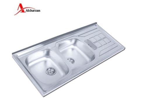 سینک ظرفشویی اخوان روکار مدل ۱۵۱-SP