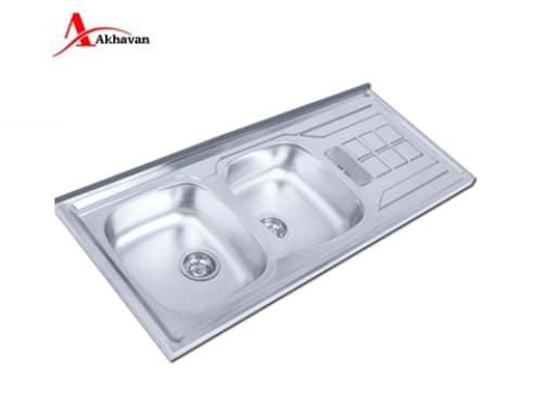 سینک ظرفشویی روکار اخوان مدل ۱۵۲-SP