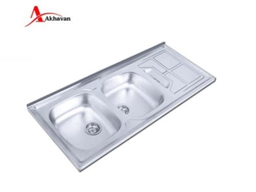 سینک ظرفشویی روکار اخوان مدل ۱۵۳-SP
