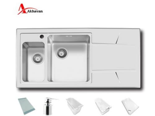 سینک ظرفشویی توکار اخوان مدل ۳۰۸