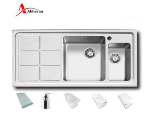 سینک ظرفشویی توکار اخوان مدل ۳۱۰