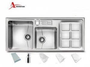 سینک ظرفشویی توکار اخوان مدل 318