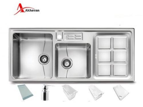 سینک ظرفشویی توکار اخوان مدل ۳۱۸