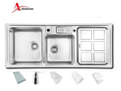 سینک ظرفشویی توکار اخوان مدل۳۶۰