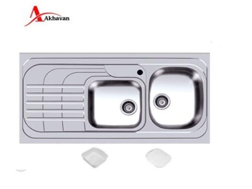 سینک ظرفشویی اخوان روکار مدل ۷۴