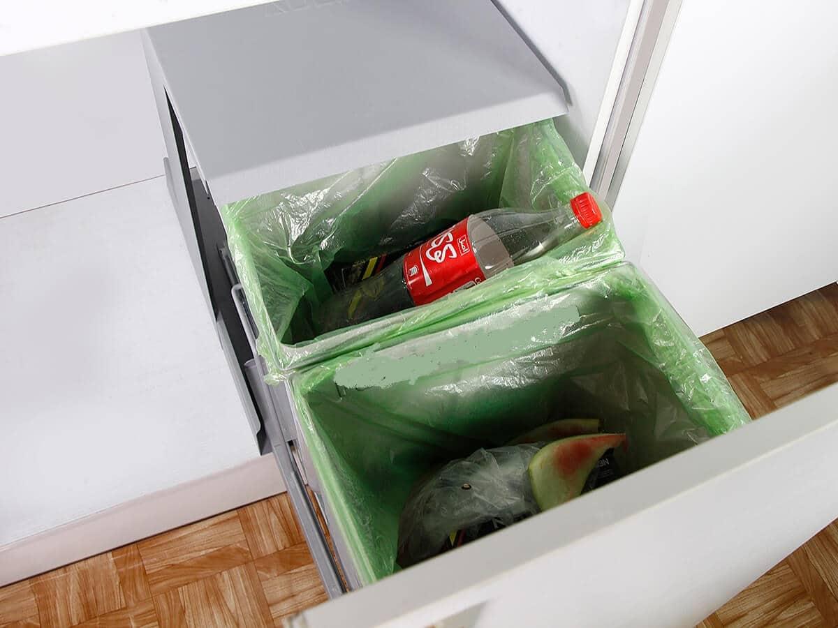 سطل زباله داخل کابینتی آدلانA838
