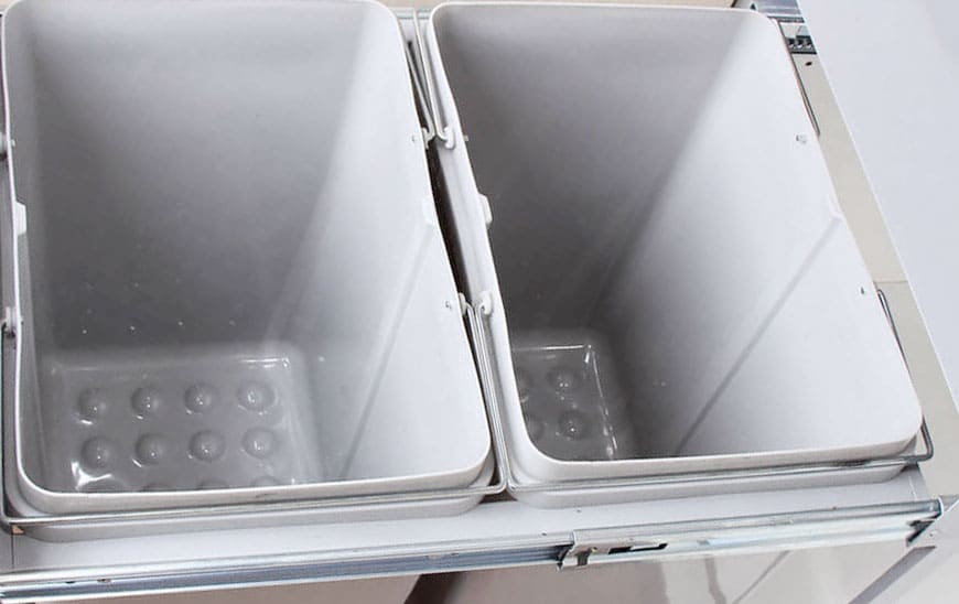 سطل آشغال داخل کابینت A813