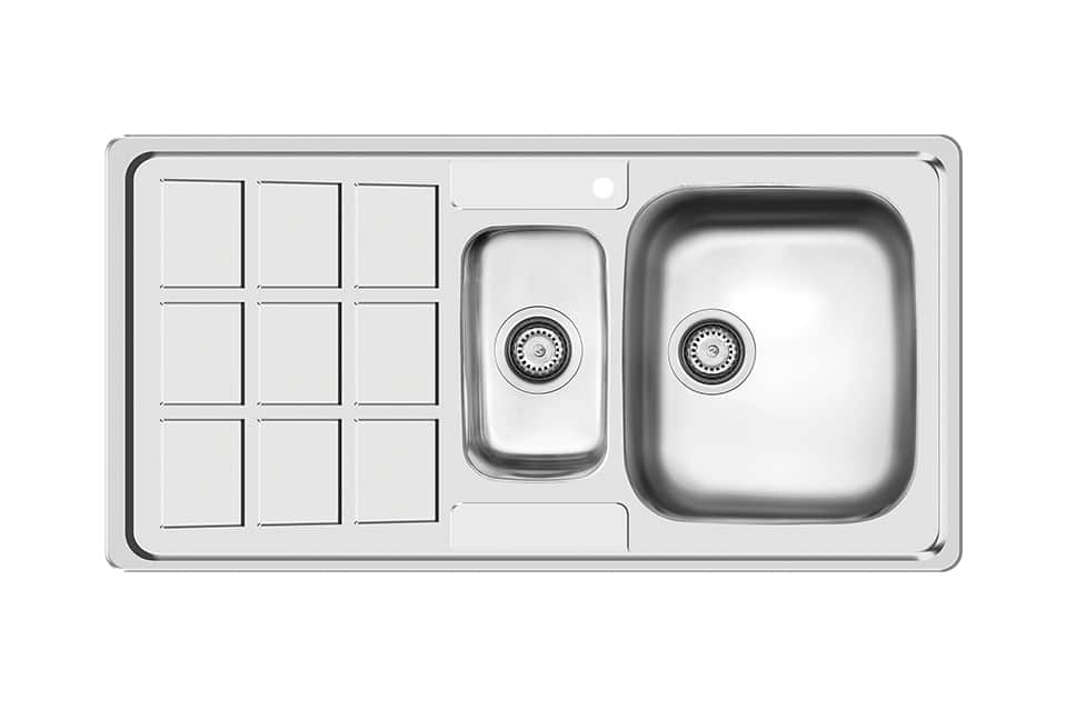 سینک ظرفشویی کن استیل مدل ۷۰۳۳