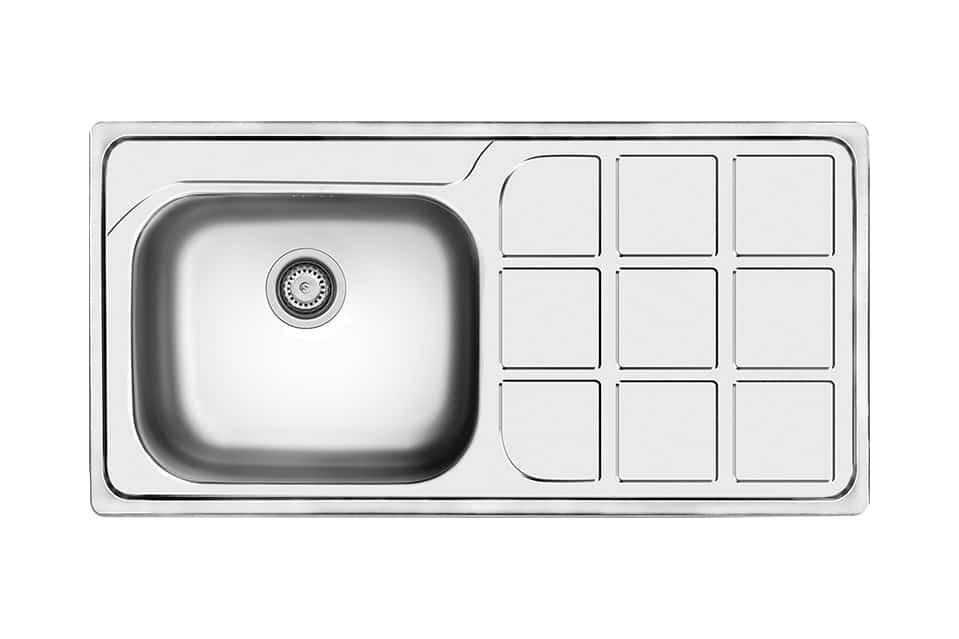سینک ظرفشویی کن استیل مدل ۷۰۳۴