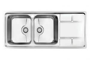 سینک ظرفشویی کن استیل مدل. P-8052
