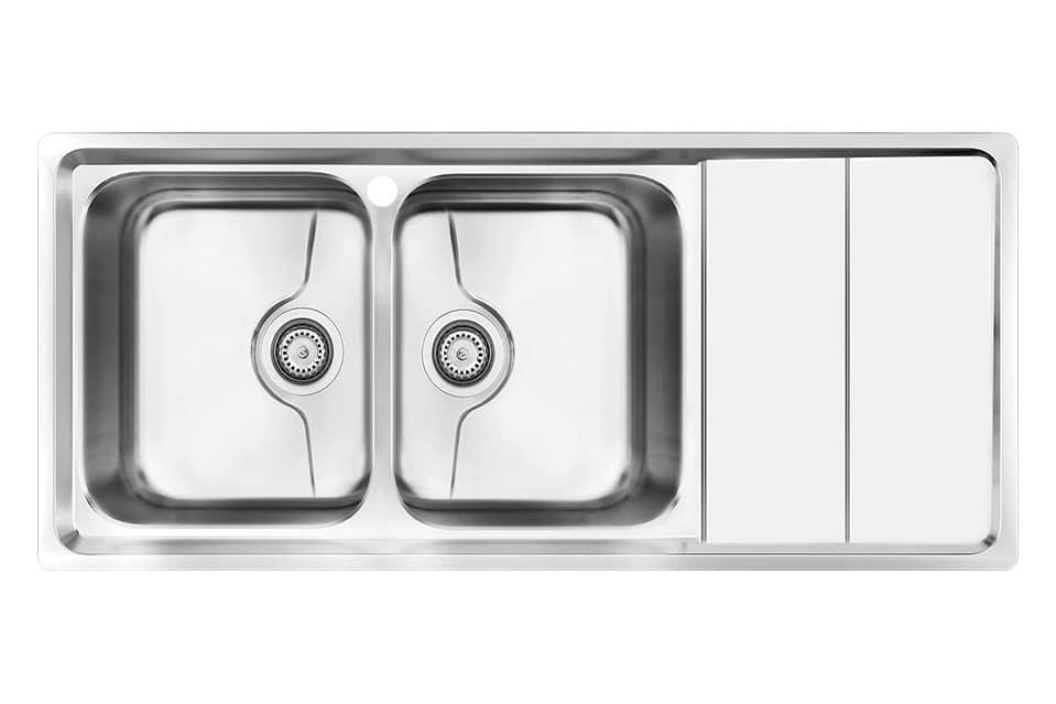 سینک ظرفشویی کن استیل مدل P-8062
