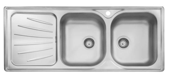 سینک ظرفشویی توکار ۲۱۴ استیل البرز