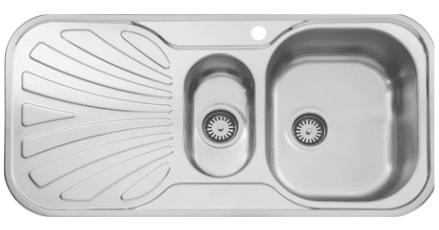 سینک ظرفشویی توکار ۵۱۰ استیل البرز