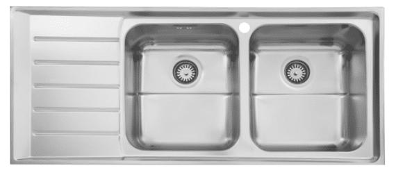 سینک ظرفشویی توکار ۷۳۵ استیل البرز