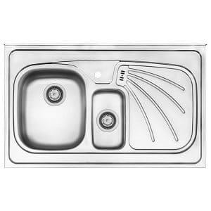 سینک ظرفشویی کن استیل مدل 314