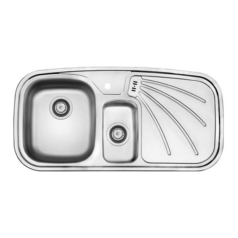 سینک ظرفشویی کن استیل مدل ۳۱۳