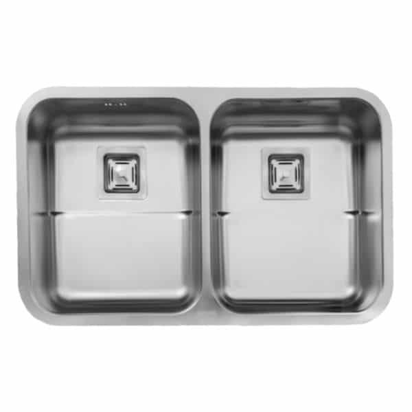 سینک ظرفشویی زیرکابینتی ۹۳۵ استیل البرز