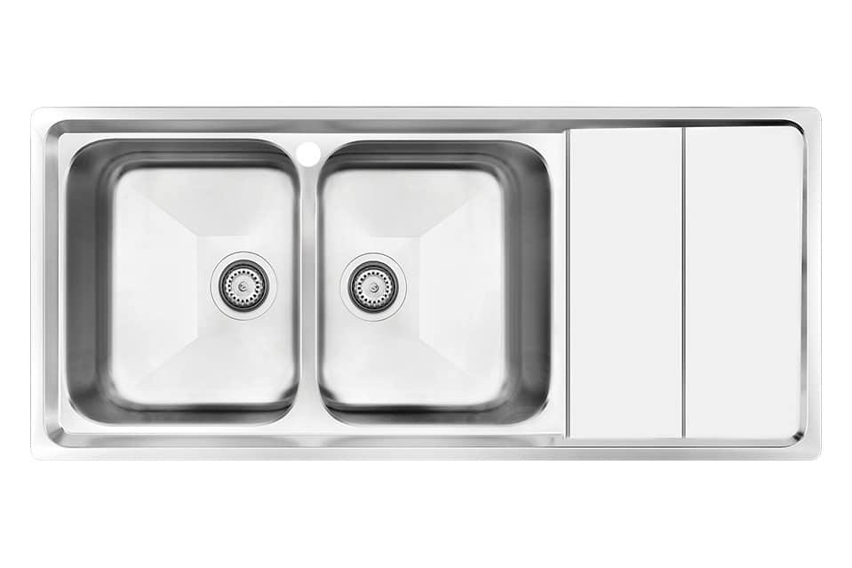 سینک ظرفشویی کن استیل مدل ۸۰۶۲
