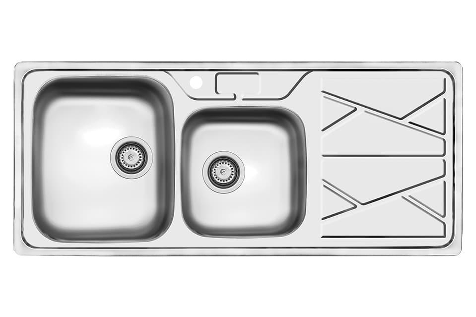 سینک ظرفشویی کن استیل مدل ۹۰۴۱