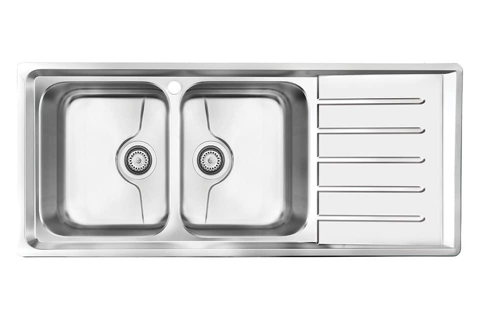 سینک ظرفشویی کن استیل مدل P-8072