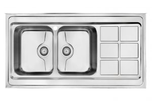 سینک ظرفشویی کن استیل مدل 9032-P