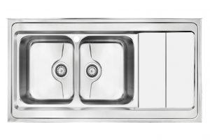 سینک ظرفشویی کن استیل مدل P-9062