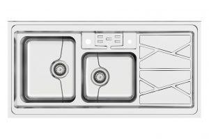 سینک ظرفشویی کن استیل مدل P45-9041