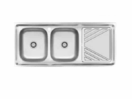 سینک ظرفشویی کن استیل مدل ۴۴۰