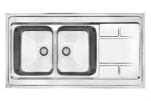 سینک ظرفشویی کن استیل مدل 9052
