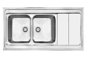 سینک ظرفشویی کن استیل مدل 9062