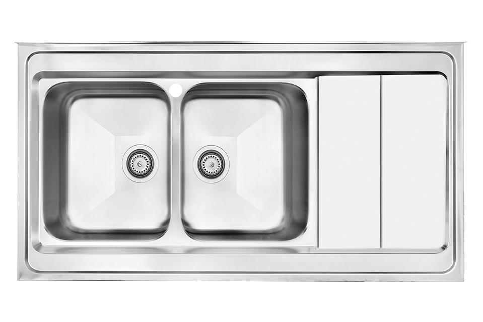 سینک ظرفشویی کن استیل مدل ۹۰۶۲
