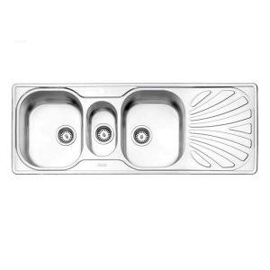 سینک ظرفشویی توکار 530 استیل البرز