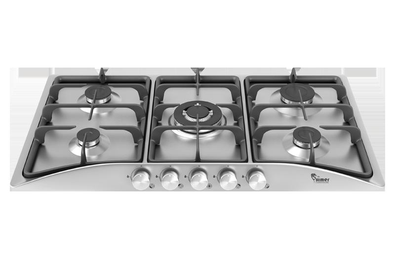 اجاق گاز صفحه ای استیل سیمر مدل S-544