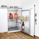 سوپری یخچالی داخل کابینتی آدلان