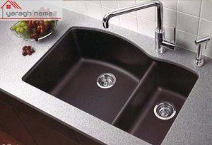 سینک ظرفشویی گرانیتی01 یراق نما