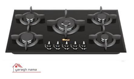 اجاق گاز صفحه ای داتیس مدل DG-544